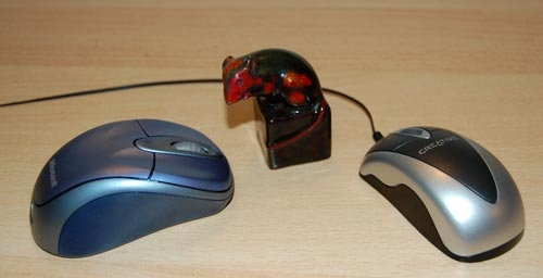 Mice (computer and porcelain)
