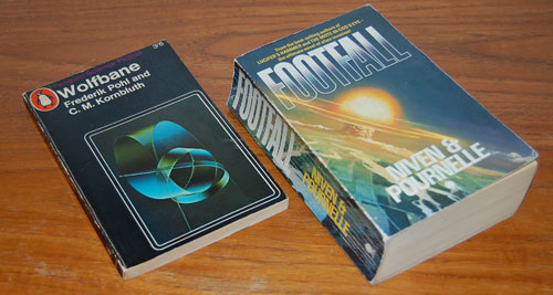Two Science Fiction books