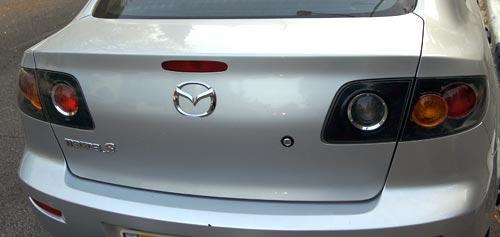 Old Mazda 3 trunk door