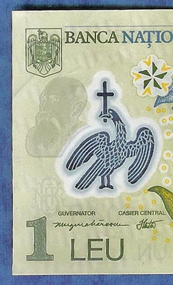 Polymer Banknote detail