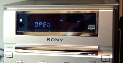 Sony mini-stereo display