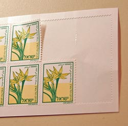Self Adhesive Stamps