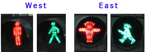 Berlin walk signals