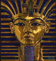 King Tut, the iconic image of DeluxePaint