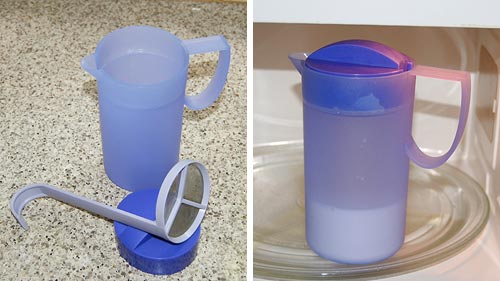 Tupperware Magic Milk Cappuccino Maker