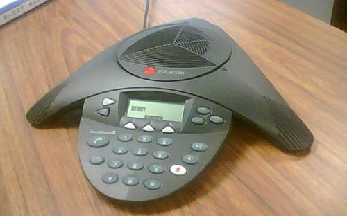 Polycom conference telephone