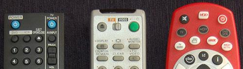 Remote Control close ups