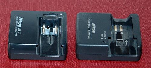 Nikon camera battery chargers