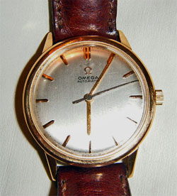 Omega mechanical wristwatch