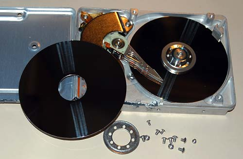 Dismantled Hard Drive