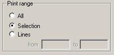 PFE Editor Print Dialog