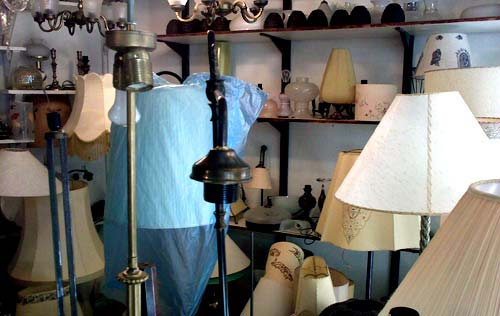 Karl Marx lighting shop, Jerusalem