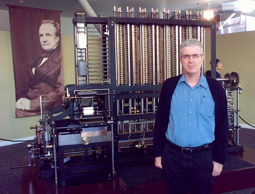 Nathan and the Babbage Difference Engine reconstruction