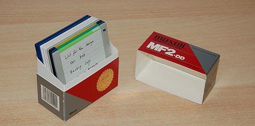Diskette Box - mid-eighties