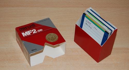 Diskette Box - nineties