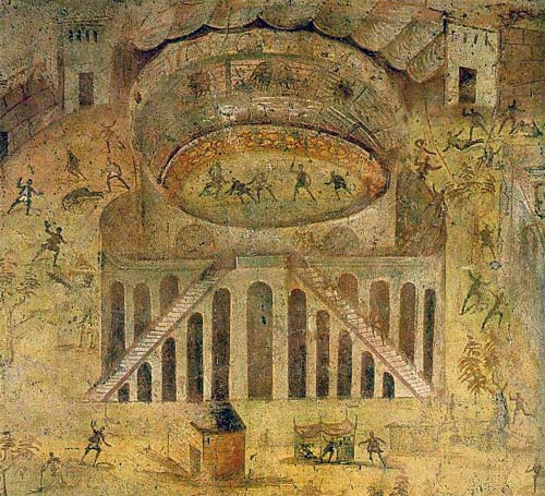 Pompeii amphitheatre violence