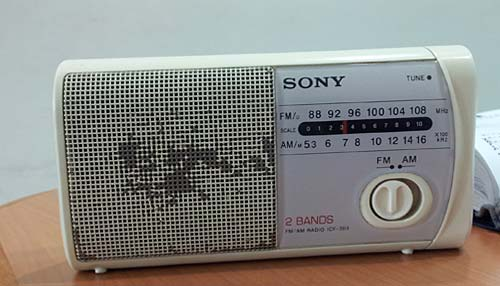 Confusing Round Knob on a Sony radio
