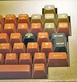CompuColor II Arrow keys