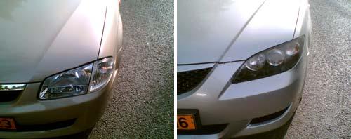 Mazda Headlamps