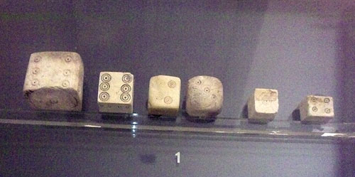 Dice from Pompeii