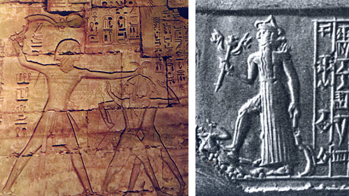 Ramesses III and Nergal