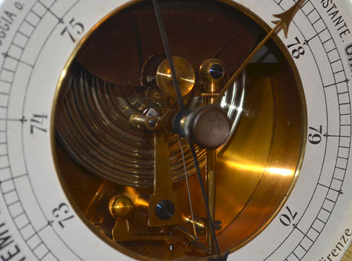 Barometer mechanism