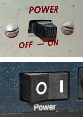 The Evolution Of The On Off Power Switch Symbol At Commonsense Design