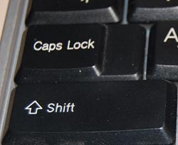 the infamous caps lock key at commonsense design. Black Bedroom Furniture Sets. Home Design Ideas